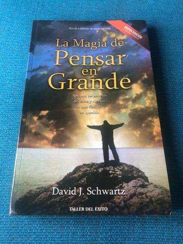 la magia de pensar en grande libro nuevo envíos caba