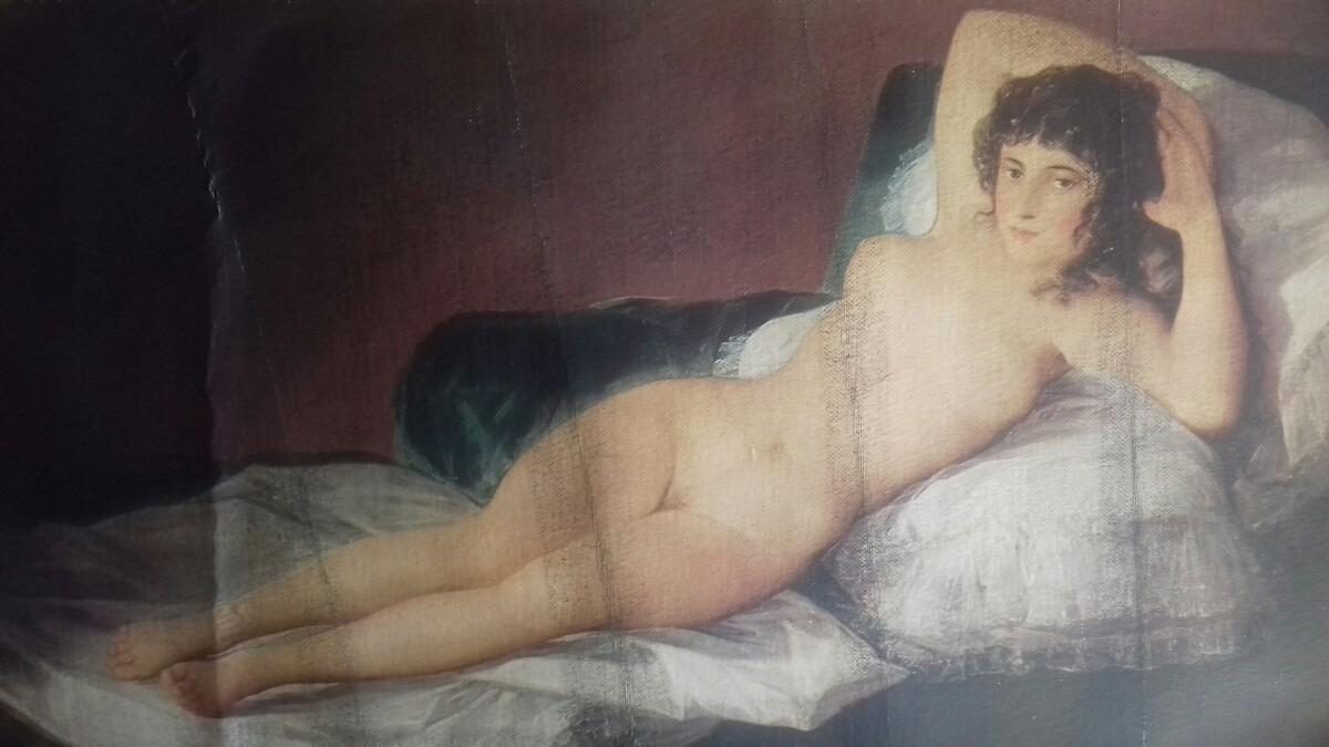 La Maja Desnuda Francisco De Goya 500000