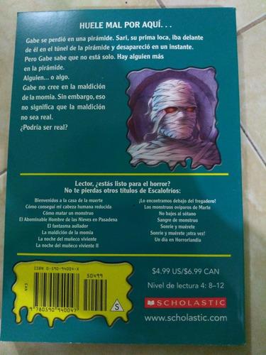 la maldición de la momia escalofríos r. l. stine