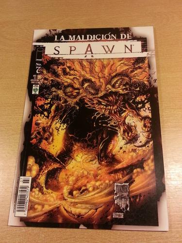 la maldicion de spawn n° 7 editorial vid mexico abril 2001