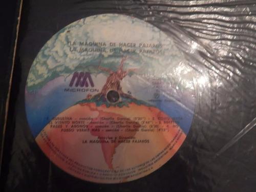 la maquina de hacer pajaros disco de vinilo 1976 -  zona sur