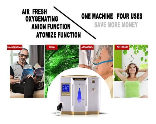 la máquina del generador del concentrador del oxígeno del h