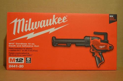 la marca de fábrica nuevo milwaukee 2441-20 m12 iones de lit