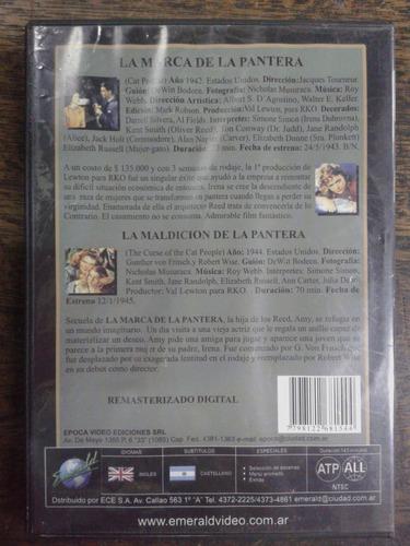 la marca de la pantera / la maldicion de la pantera * dvd *