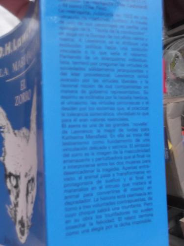 la mariquita / el zorro d. h. lawrence autor lady chatterly