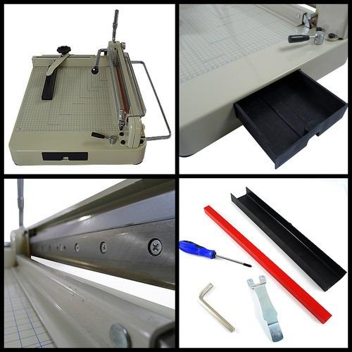 la mas profesional guillotina cortadora papel 12in uso rudo