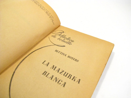 la mazurka blanca. bettina boyers.