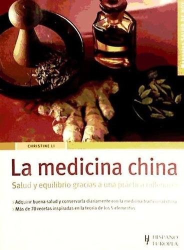 la medicina china (salud de hoy)(libro . nutrición y dietéti