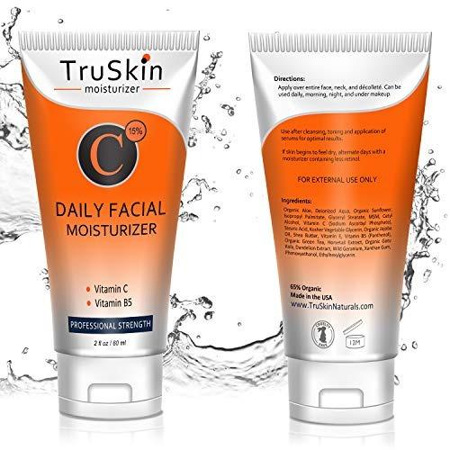 la mejor crema hidratante de vitamina c para el rostro, el