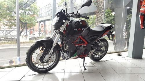 la mejor deportiva 250 cc benelli con 6 velocidades