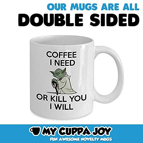 la mejor taza divertida - café que necesito o le m taza de