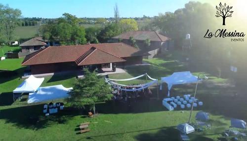 la messina eventos - pilar - 7 hectáreas - piscina - salón