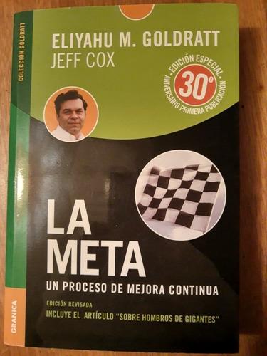 la meta edición especial 30°  eliyahu m. goldratt - jeff cox
