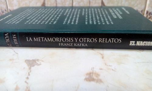 la metamorfosis y otros relatos de franz kafka