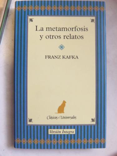la metamorfosis y otros relatos franz kafka tapa dura nuevo