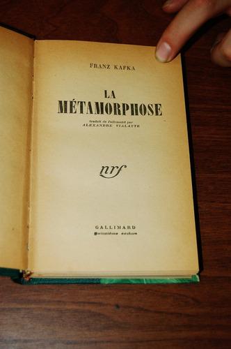 la metamorphose - franz kafka