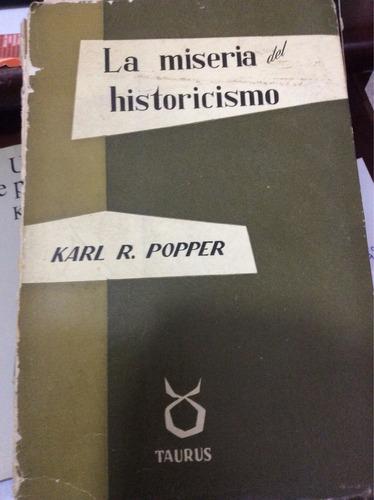 la miseria del historicismo- karl popper
