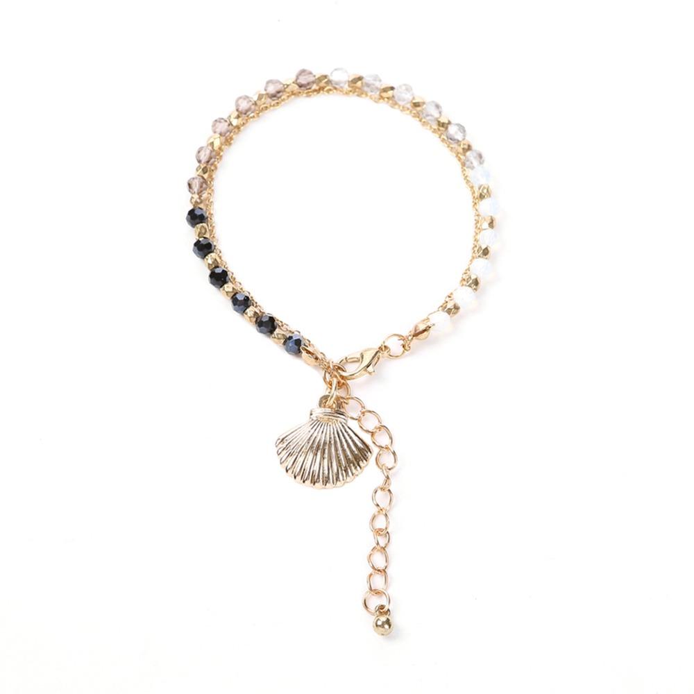 1449f5bb352e la moda del encanto de la pulsera de perlas de cadena de. Cargando zoom.