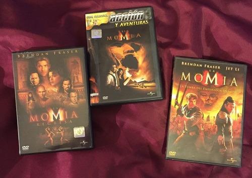 la momia - trilogia completa (3 dvds originales)