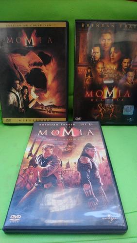 la momia trilogía dvd original