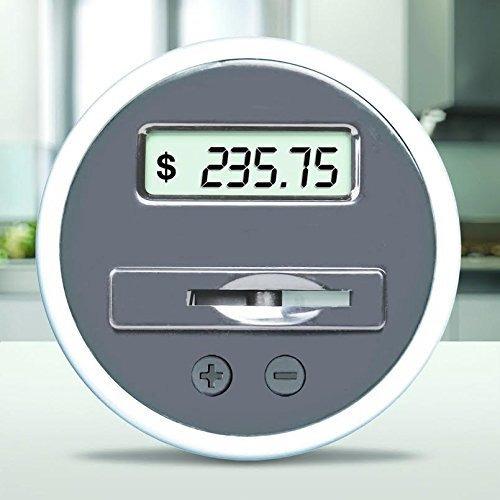 la moneda digital caja de ahorros del tarro por de - contad