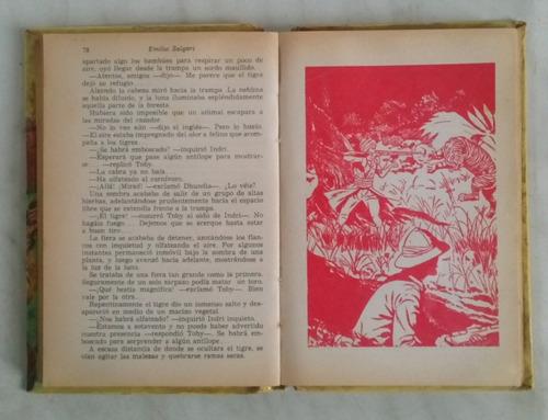 la montaña de luz emilio salgari / n editorial acme 1974