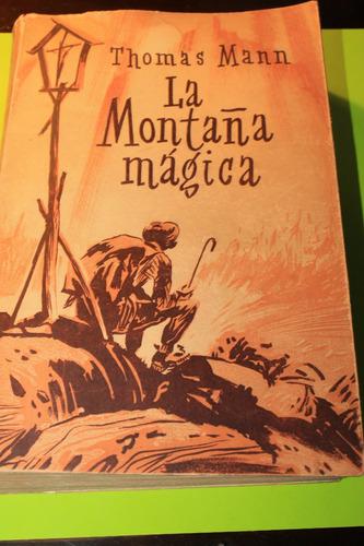 la montaña magica  thomas mann