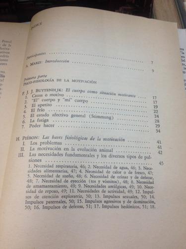 la motivacion - nuttin - pieron - buytendijk - ed. proteo