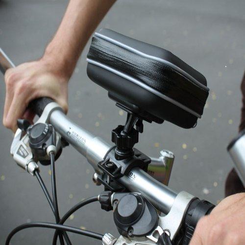 la motocicleta gps montar bicicleta manillar impermeable