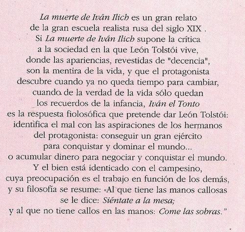la muerte de iván ilich.-.león nikoláievich tolstói.-.