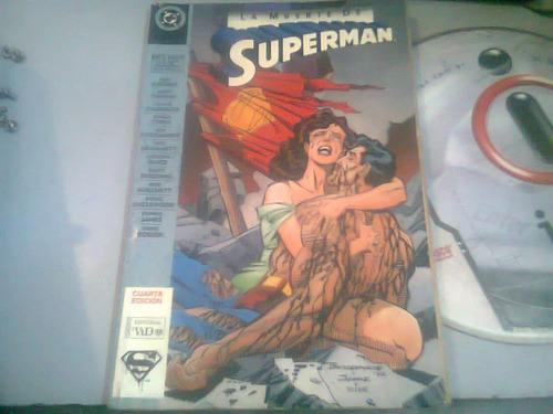 la muerte de superman comic