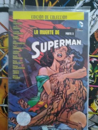 la muerte de superman comics dc historia completa