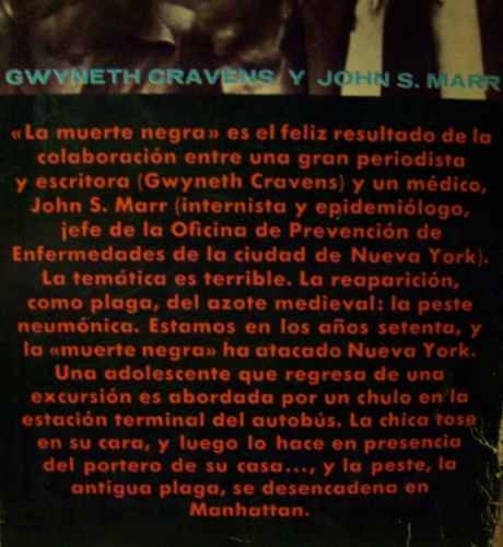 la muerte negra gwyneth cravens john s. marr plaza & janes