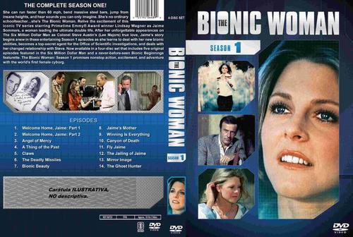 la mujer biónica - latino. serie completa.