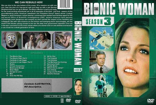 la mujer biónica - latino. temporada 3 completa.