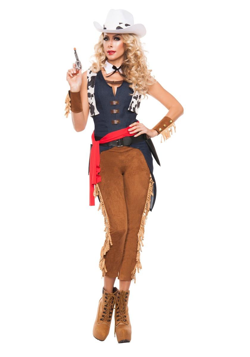324ab538433af La Mujer Salvaje Oeste Disfraz De Vaquera -   394.550 en Mercado Libre
