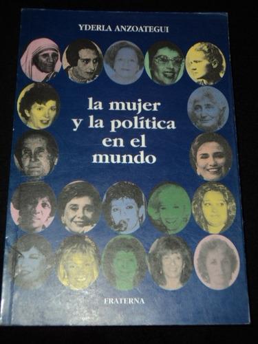 la mujer y la politica en el mundo - yderla anzoategui