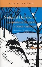 la muñeca de nieve, nathaniel hawthorne, acantilado