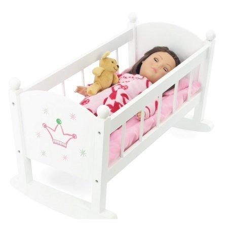 La Muñeca Del Bebé De La Cuna O Cuna Mecedora De Muebles   A ...