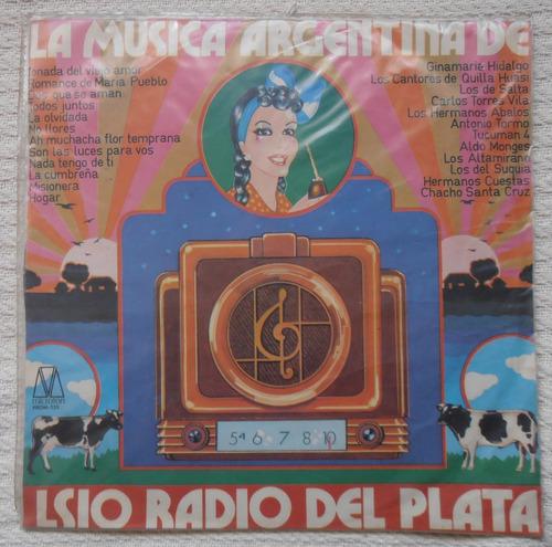 la música argentina de ls 10 radio del plata - complilación