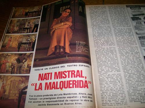 la nacion revista 454 - nati mistral - jorge fama fotografo