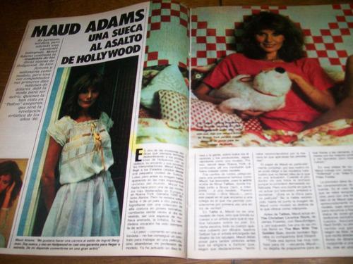 la nacion revista 609- maud adams - felix pelayo- ambrogetti