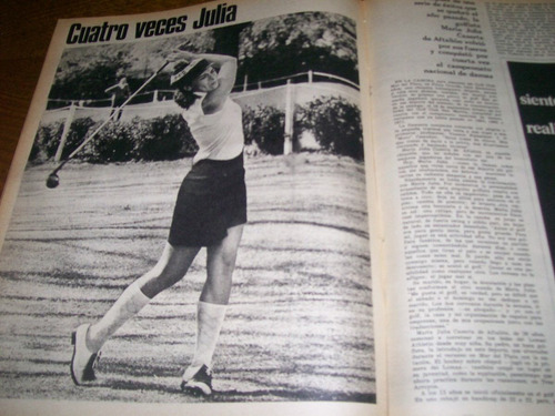 la nacion revista- arnaldo andre - maria julia caserta golf