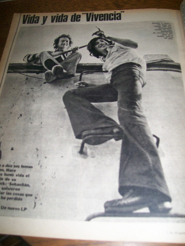 la nacion revista -  dora baret - carlos monzon vs napoles