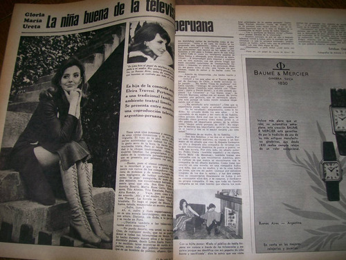 la nacion revista- mirtha legrand / dustin hoffman / mafia