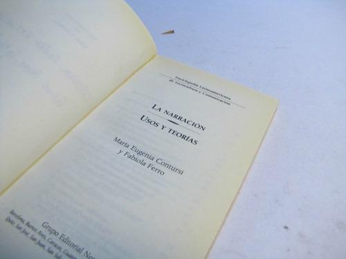 la narración usos y teoría,  f. ferro m. contusi