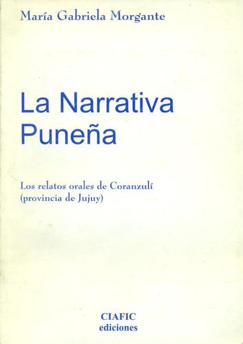 la narrativa puneña - morgante, maría gabriela