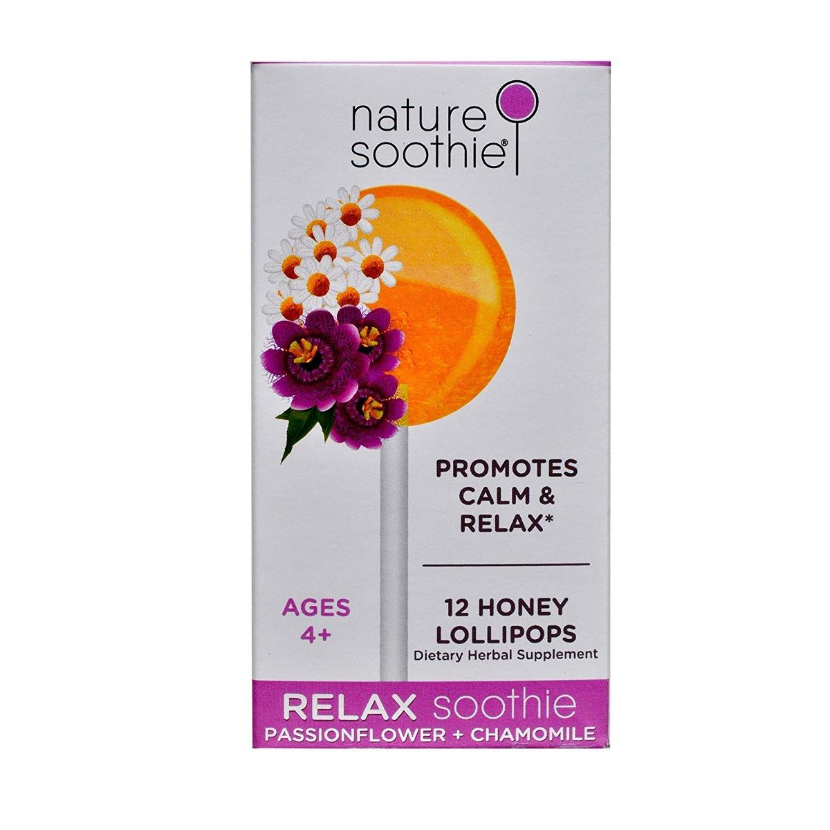 La Naturaleza Soothie Relax Totalmente Natural Lollipop, Flo