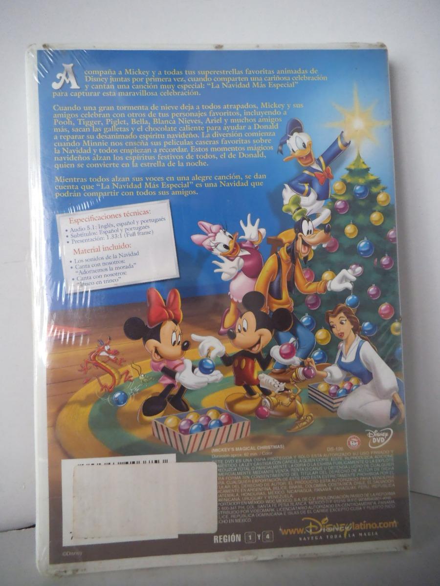 La Navidad Magica De Mickey Disney Dvd - $ 235.00 en Mercado Libre
