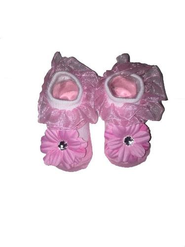 la niña de baño conjunto regalo con botties calcetines y la